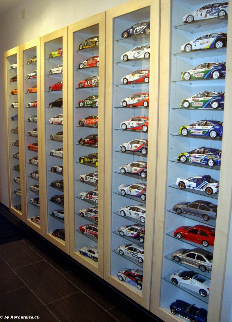 Overview of my collection dx 1 18 collectors diecast c - Vitrine collection ikea ...